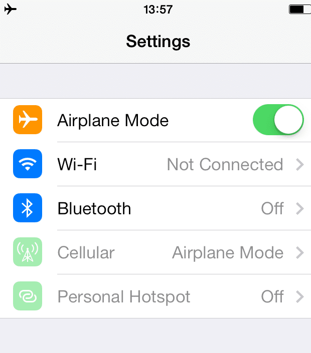 Using Your iPhone Abroad with WiFi and Airplane Mode