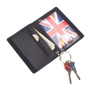 travel wallet inside