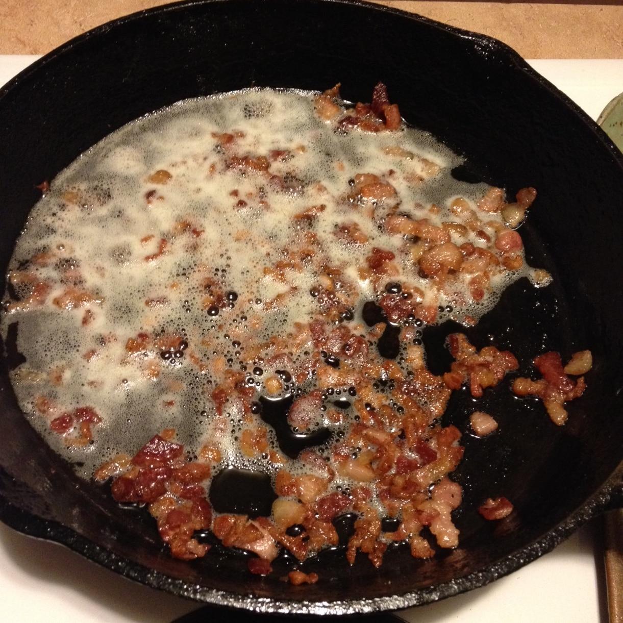 carbonara bacon