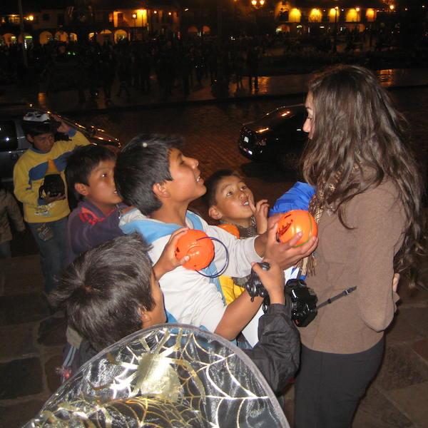 Halloween in Peru