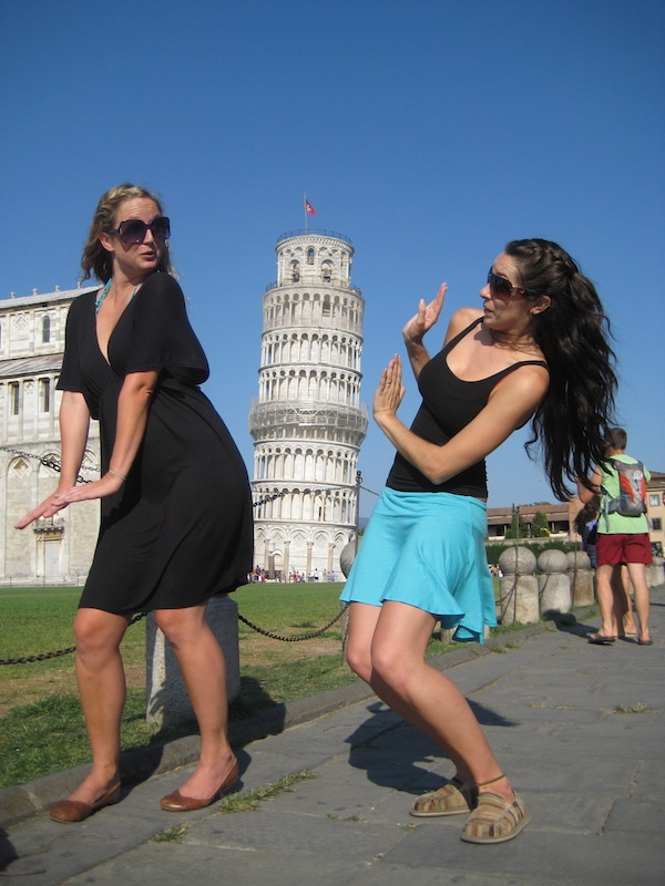 fun with the tower of Pisa
