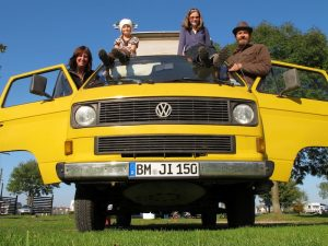 Traveling with Kids in a VW Van