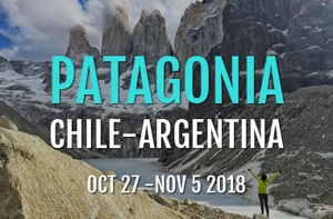 Patagonia Tour 2018